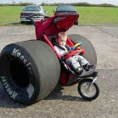 The Fastest Baby Buggy In The World