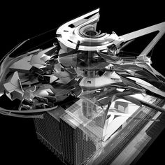 Another image from my section of the SCI-Arc Undergraduate Thesis. This exploded axonometric is the work of James Choe @naymzjaymz and Bran Arifin @bransuwandrei . #Sciarc Angular Architecture, Architecture Drawings, Futuristic Architecture, Contemporary Architecture, Architecture Design, Architecture Models, Sci Arc, Arch Model, Ancient Buildings