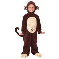 Kids Furry Animals Halloween Monkey Costume (2-4 YRS) $24.99