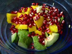 Ingredients de la salade superfood