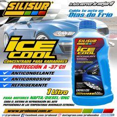 #BuenJueves en días de frío❄️cuida el motor de tu auto🚗🚙utilizando siempre en el radiador🏁SILISUR ICE COOL 1LT🏁Motores:#NAFTA #DIESEL #GNC protección a -37°C ✅ANTICONGELANTE ✅ANTICORROSIVO ✅REFRIGERANTE Tu auto merece lo mejor!!🏁😀👍