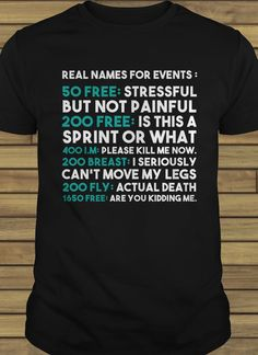 As a swimmer that is true to me Funny Sport Shirt Ideas of Funny Sport Shirt - Funny Team Shirts - Ideas of Funny Team Shirts - As a swimmer that is true to me Funny Sport Shirt Ideas of Funny Sport Shirt As a swimmer that is true to me Swimming Drills, Competitive Swimming, Swimming Gear, Swimming Outfit, Swimming Clothes, Swimming Equipment, Swimming Sport, Swimming Funny, Swimming Memes