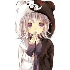 Chiaki Nanami ❤ liked on Polyvore featuring anime, drawings and people