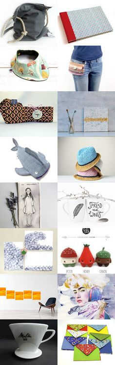 Bags and things you like to put into it by Andrea on Etsy--Pinned+with+TreasuryPin.com #etsyde #unseretsy #treasury #sammlung #madeingermany #handmade #deutscheshops