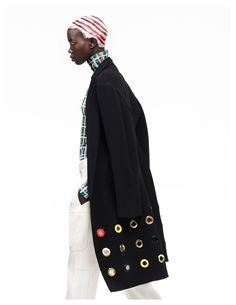 Nykhor Paul Models Celine for Elle Mexicos May Issue