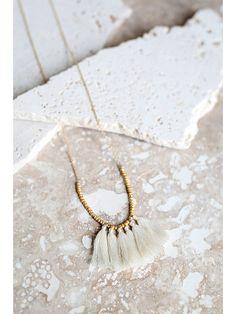 Mini Tassel Necklace