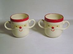 2 Vintage Holt Howard Santa Claus Two by BrilbunnySelections, $40.00