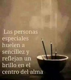 Las personas especiales...