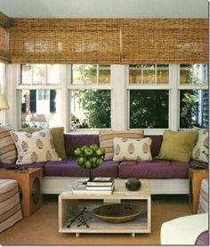 for the love of sunrooms: i miss the all seasons room in my parents old home