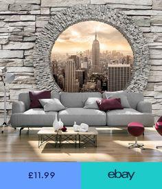 Effektvolle Wand Und Raumgestaltung Mit Fototapete Hausideen
