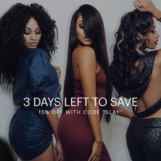 15% code slay plus 10% when you buy 3 bundles! Hurry get it before its gone!