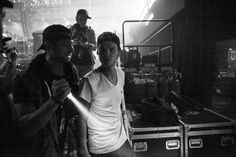 Behind the scenes with Avicii at the Ralph Lauren Denim & Supply concert