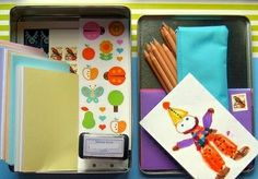 Snail Mail Kit idea... This would be a perfect gift to teach a child the love of letters!