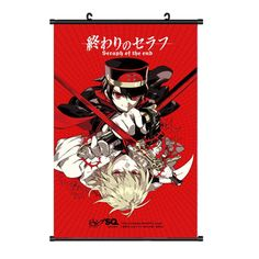 Onecos Anime Seraph of the end Logo Poster wall Picture Cosplay 1PCS -- Click image to review more details.