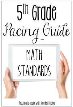 Grab a copy of my 5th grade math pacing guide with rationale on this post. Math 5, Math Tutor, Guided Math, Math Education, Teaching 5th Grade, Fifth Grade Math, Teaching Math, Sixth Grade, Fourth Grade
