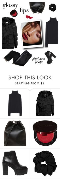 """A blend of sexy & tough"" by minorseventh ❤ liked on Polyvore featuring M.i.h Jeans, Balenciaga, 3.1 Phillip Lim, TROA, Kevyn Aucoin, Windsor Smith and Bobbi Brown Cosmetics"