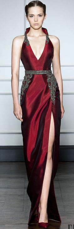 Dilek Hanif Couture FW 2014 - 2015 Good for the rehearsal dinner.