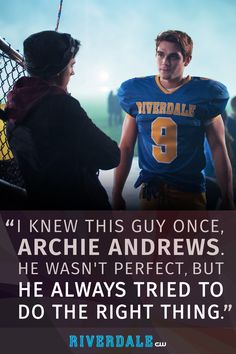 He's a hero with a heart of gold...with dark secrets to hide. Watch KJ Apa as Archie on Riverdale now: www.cwtv.com/shows/riverdale