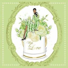 Mats Gustafson, Megan Hess Illustration, Scarf Design, Rolled Hem, Harpers Bazaar, Shades Of Green, Fashion Art, Peonies, Silk