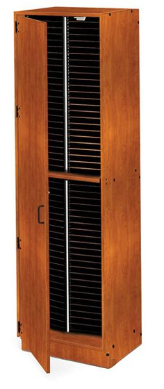 Tall Folio Cabinets - Sheet Music Storage for Vocal Music Classroom