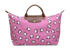 Jeremy Scott for Longchamp... i missed the boat on this collection but i do like it.
