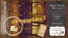 Royal Harvest Kit 1 & 2 - $3.49 : ScrapBird!, source for digital scrapbooking