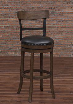 """Carondelet 30"""" Swivel Bar Stool with Cushion"""