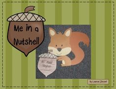 $2.00 Students will love writing about themselves and creating this adorable squirrel craftivity. Students will create an acorn book about themselves and attach it to a cute craft. Makes a great bulletin board.