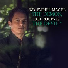 My Father may be the Demon but yours is the Devil Arrow Quote, Arrow Cw, Team Arrow, John Barrowman Arrow, Best Villains, Flash Arrow, Stephen Amell, How To Be Likeable, Well Dressed Men