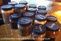 Baby Food Spice Jars