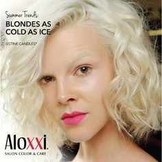 """Summer Hair Trend: Are you """"As Cold As Ice""""?  summer hair 