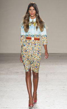 Stella Jean - Milán - 2015 - Primavera-verano - Harper's Bazaar