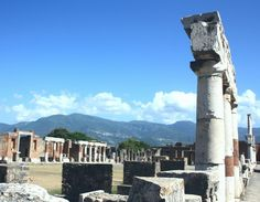 Foro de la ciudad romana de Pompeya