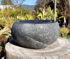 stone bowl for the garden