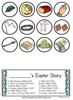 Easter Story guide