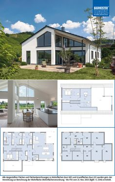 House augenthaler's dream house with huge space. Future House, My House, Thermal Hotel, Small House Plans, Types Of Houses, House Goals, Floor Plans, House Design, Mansions