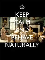 """Don't typically care for these """"keep calm"""" memes but I couldn't help myself with Pride and Prejudice :)"""