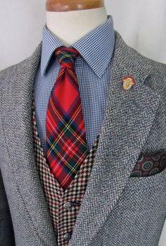Vintage 1960s ORVIS x HARRIS TWEED Wool Blazer ~ 38 to 40 R ~ Herringbone jacket / sport coat ~