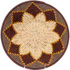 African Basket - Uganda - Rwenzori Bowl - 12.25 Inches Across - #48988