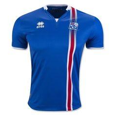 a5c4e8ca17 Camisa oficial Errea seleção da Islandia Euro 2016 I jogador