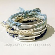 inspiration and realisation: DIY fashion blog: DIY Chan Luu inspired tube bracelets