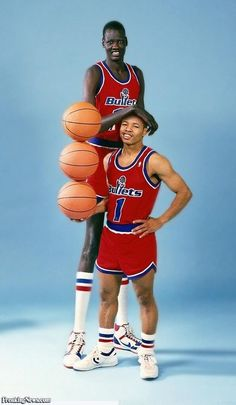 3fc4e7fc9 Manute Bol and Mugsy Bogues