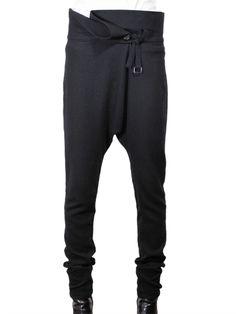 CLOTHES || Ann Demeulemeester - Oversize waist trousers
