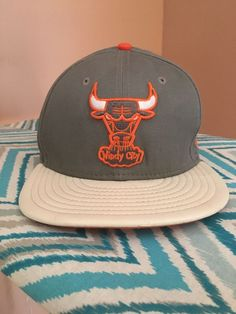 427255fc New Era Bulls Windy City SnapBack Leather Brim Hat #fashion #clothing  #shoes #
