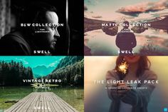 The Lightroom Collection - 4 bundles by Swell Studio on Creative Market