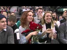 London Ontario native Rachel McAdams sits court side at the Raptors-Wizards game.
