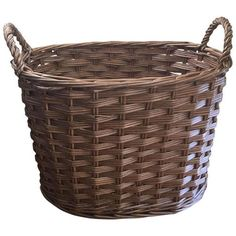 Oval Woven Wooden Basket (66 AUD) ❤ liked on Polyvore featuring home, home decor, small item storage, baskets, wood home decor, wooden hamper, wooden home decor, woven hamper and wooden baskets