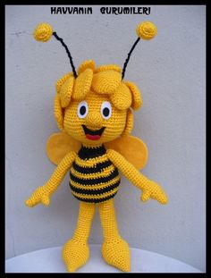 Amigurumi Basic Doll Pattern : 1000+ images about Ape Maya on Pinterest Maya, The Bee ...
