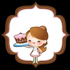 Muñeca pastelera.