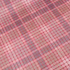 beschichtete Baumwolle - Karo - rot
